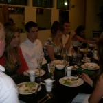 Dining Etiquette at a 2010 College Cotillion Class at The Palm Deli