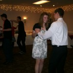 High School students dance the Swing at the 2010 Dinner Dance